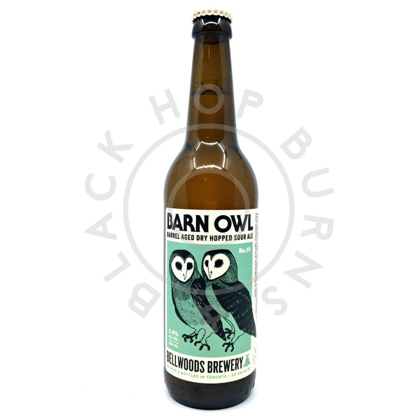 Bellwoods Barn Owl No. 19 Wild Ale 5.8% (500ml)-Hop Burns & Black