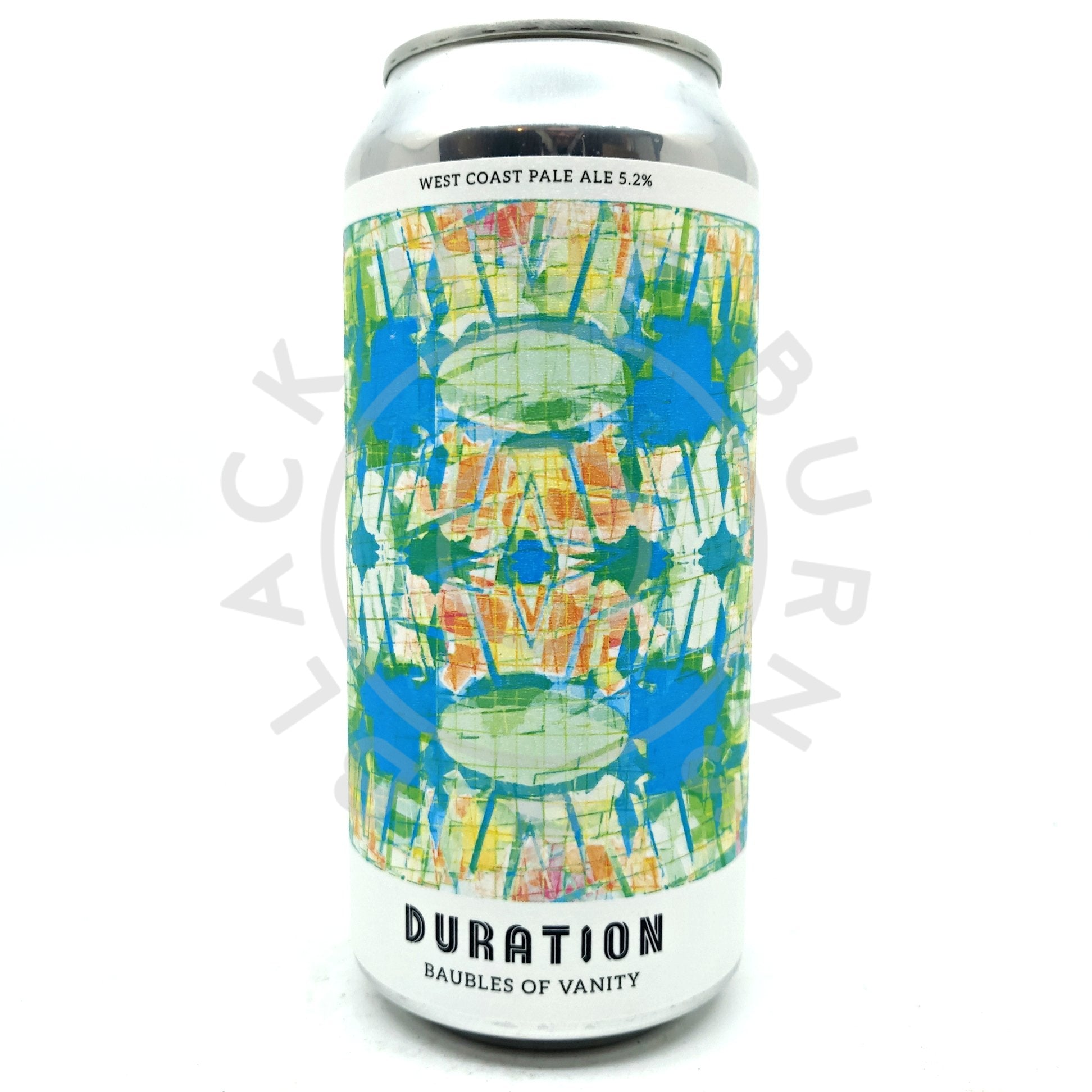 Duration Baubles of Vanity West Coast Pale Ale 5.2% (440ml can)-Hop Burns & Black
