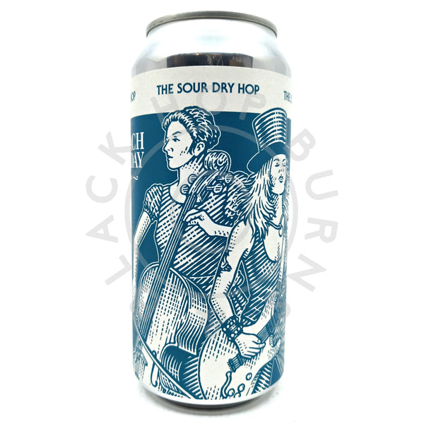Anspach & Hobday The Sour Dry Hop 4.9% (440ml can)-Hop Burns & Black