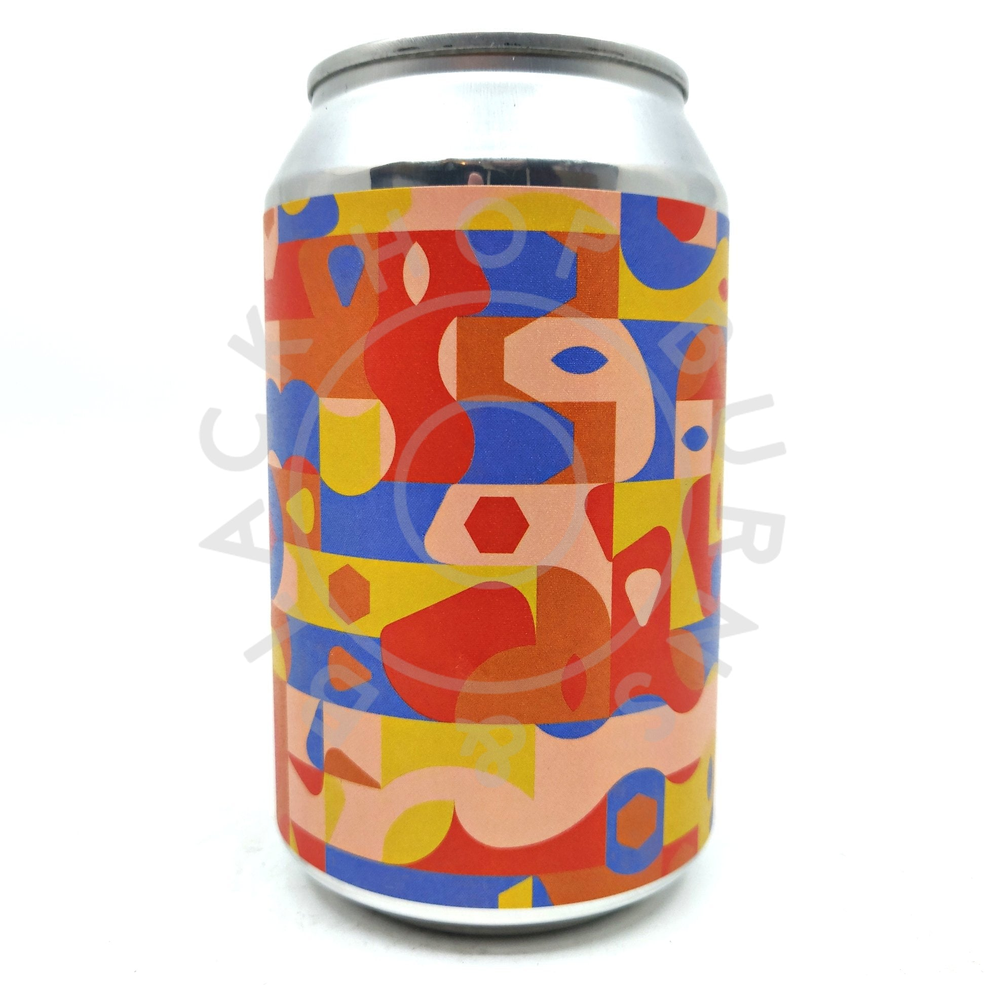 Brick Brewery x Brewgooder Wild Flower Rustic Sour Ale 3.9% (330ml can)-Hop Burns & Black
