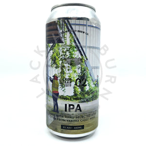Cloudwater Hooked On Citra Crop Year 2019 Citra 02 Single Hop IPA 6% (440ml can)-Hop Burns & Black