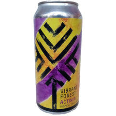 Vibrant Forest Actinia Tropical Fruit Sour 7.1% (440ml can)-Hop Burns & Black