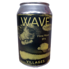 Villages Wave IPA 5.9% (330ml can)-Hop Burns & Black