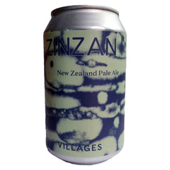 Villages Zinzan New Zealand Pale Ale 5% (330ml can)-Hop Burns & Black