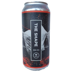 Wylam The Shape DDH IPA 6.7% (440ml can)-Hop Burns & Black