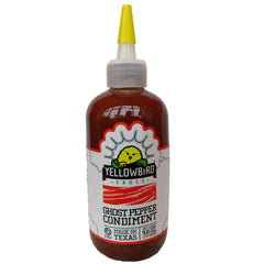 Yellowbird Ghost Pepper Condiment (278g)-Hop Burns & Black