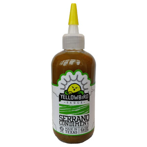 Yellowbird Serrano Condiment (278g)-Hop Burns & Black