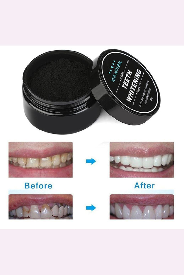 Natural Organic Teeth Whitening Charcoal