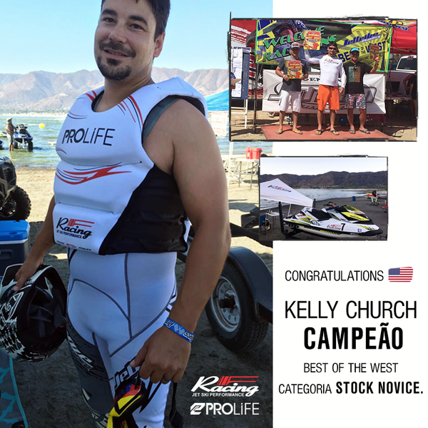CONGRATULATIONS! Kelly Church campeão Best of the West