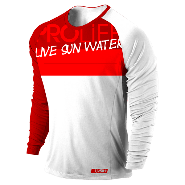 Blusa UV Masculina - Life Red