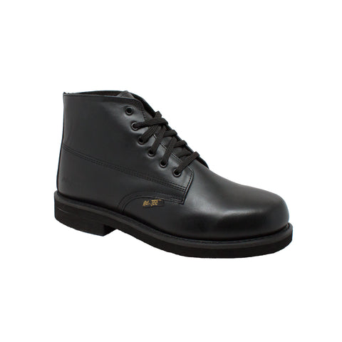 "Men's 6"" Amish Boot Black, Uniform, Marcus Allen Accessories - Marcus Allen Accessories"