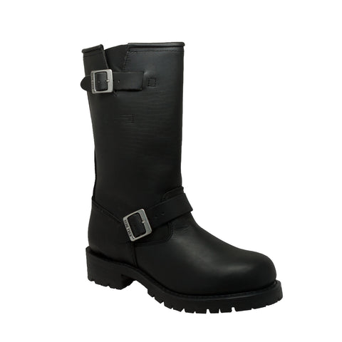 "MEN'S 11"" ENGINEER BOOT BLACK"