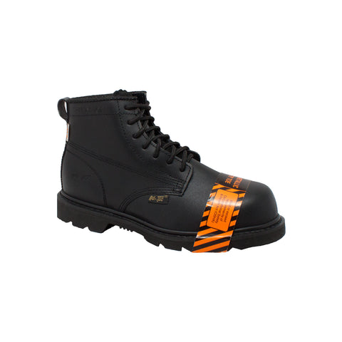 "Men's 6"" Composite Toe Boot Black, Uniform, Marcus Allen Accessories - Marcus Allen Accessories"