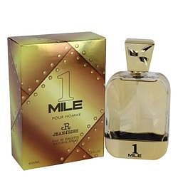 1 Mile Pour Homme Eau De Toilette Spray By Jean Rish 3.4 oz Eau De Toilette Spray