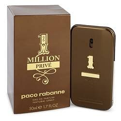 1 Million Prive Eau De Parfum Spray By Paco Rabanne 1.7 oz Eau De Parfum Spray