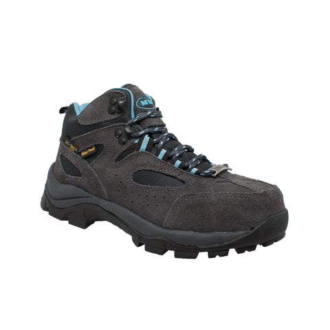 Women's Suede Work Hiker Grey/Blue, Hiker, Marcus Allen Accessories - Marcus Allen Accessories