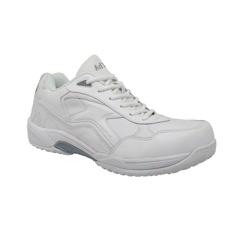 MEN'S UNIFORM ATHLETIC LACE UP WHITE