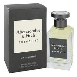 Abercrombie & Fitch Authentic Eau De Toilette Spray By Abercrombie & Fitch