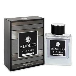 Adolfo Classic Eau De Toilette Spray By Francis Denney 3.4 oz Eau De Toilette Spray