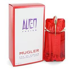 Alien Fusion Eau De Parfum Spray By Thierry Mugler 2 oz Eau De Parfum Spray