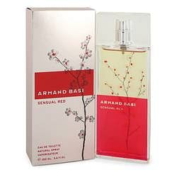 Armand Basi Sensual Red Eau De Toilette Spray By Armand Basi