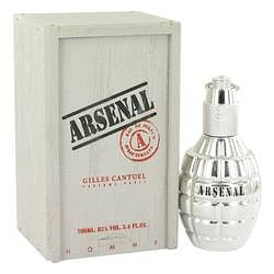 Arsenal Platinum Eau De Parfum Spray By Gilles Cantuel