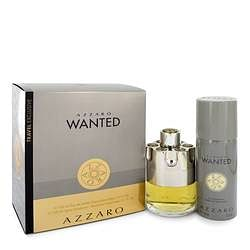 Azzaro Wanted Gift Set By Azzaro 3.4 oz Eau De Parfum Spray + 5.1 oz Deodarant Spray