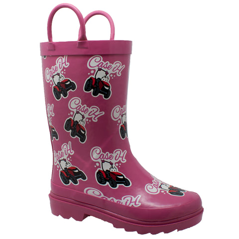 CHILDREN'S LI'L PINK RUBBER BOOT PINK