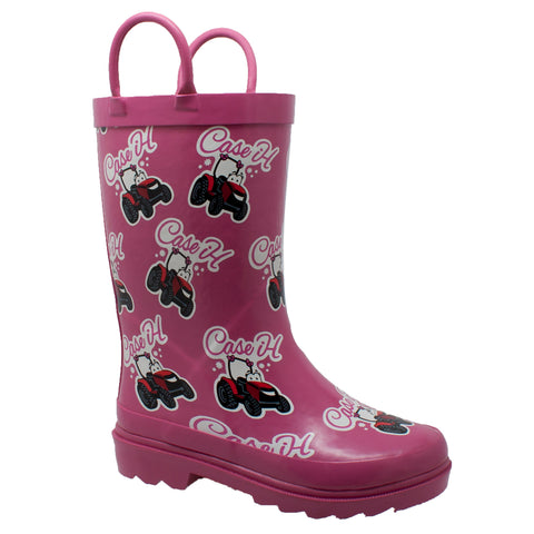 TODDLER'S LI'L PINK RUBBER BOOT PINK