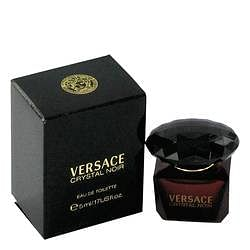 Crystal Noir Mini EDT By Versace 0.17 oz Mini EDT