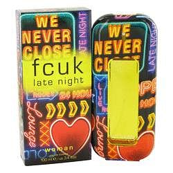 Fcuk Late Night Eau De Toilette Spray By French Connection