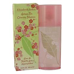 Green Tea Cherry Blossom Eau De Toilette Spray By Elizabeth Arden 3.3 oz Eau De Toilette Spray