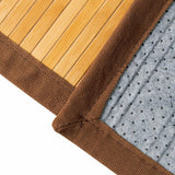 Indoor/Outdoor 100% Bamboo Area Rug Floor Carpet (5' x 8')