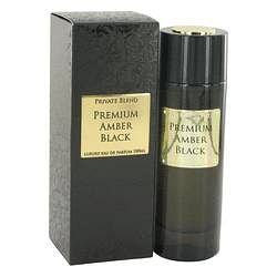 Private Blend Premium Amber Black Eau De Parfum Spray By Chkoudra Paris