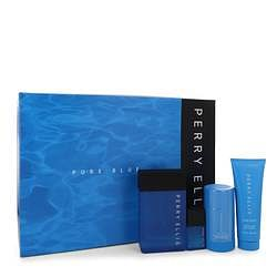 Perry Ellis Pure Blue Gift Set By Perry Ellis