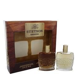 Stetson Gift Set By Coty 2 oz Collector's Edition Cologne + 2 oz Collector's Edition After Shave