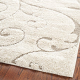 Hand-woven Ultimate Cream/ Beige Shag Rug - Select your Size
