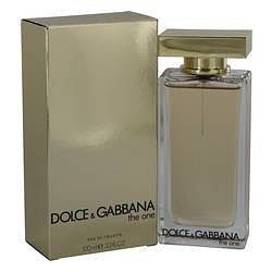 The One Eau De Toilette Spray (New Packaging) By Dolce & Gabbana 3.3 oz Eau De Toilette Spray