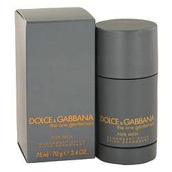 The One Gentlemen Deodorant Stick By Dolce & Gabbana 2.5 oz Deodorant Stick