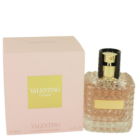 Valentino Donna Eau De Parfum Spray By Valentino 3.4 oz Eau De Parfum Spray