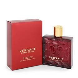Versace Eros Flame Eau De Parfum Spray By Versace 3.4 oz Eau De Parfum Spray