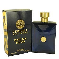 Versace Pour Homme Dylan Blue Eau De Toilette Spray By Versace 6.7 oz Eau De Toilette Spray