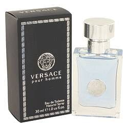 Versace Pour Homme Eau De Toilette Spray By Versace 1 oz Eau De Toilette Spray