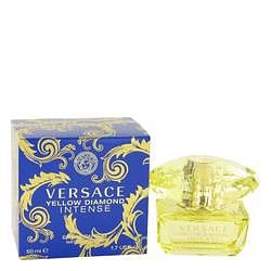 Versace Yellow Diamond Intense Eau De Parfum Spray By Versace 1.7 oz Eau De Parfum Spray