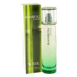 Bambou Eau De Parfum Spray By Weil 3.4 oz Eau De Parfum Spray