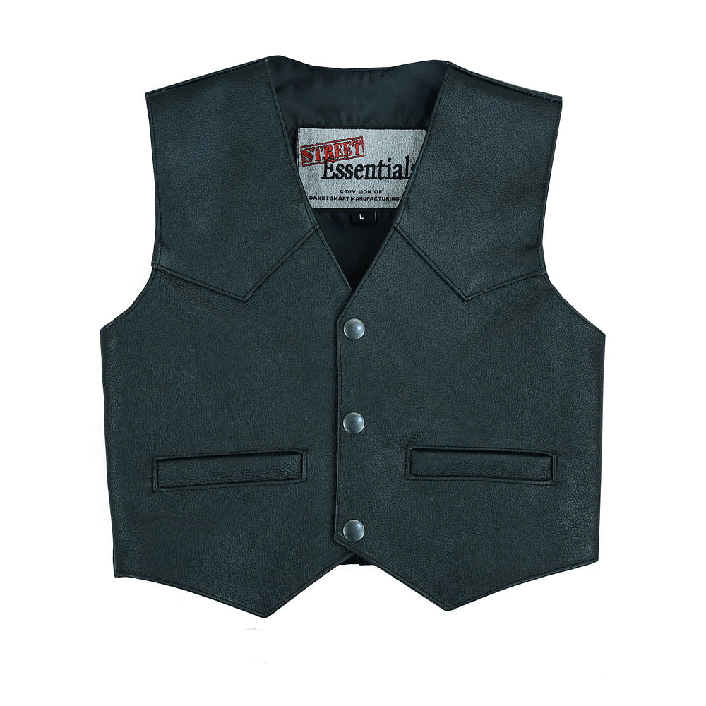Toddler Traditional Style Plain Side Vest