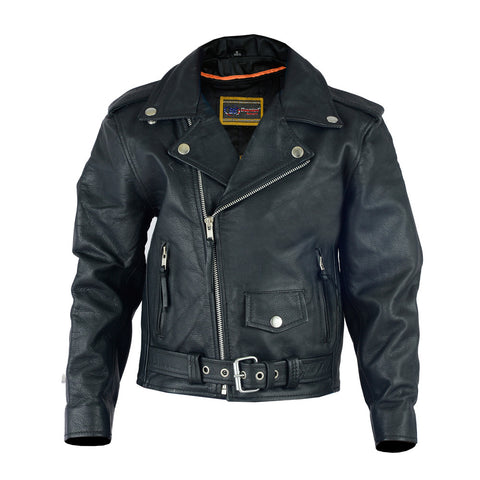DS1720 Kid's Traditional Style M/C Jacket, Motorcycle, Marcus Allen Accessories - Marcus Allen Accessories