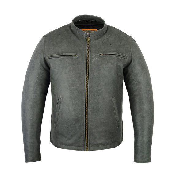 Men's Sporty Cruiser Jacket (GRAY)