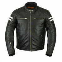Men's Retro Style Jacket, Motorcycle, Marcus Allen Accessories - Marcus Allen Accessories