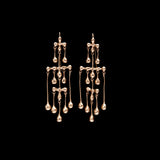 Small Georgian Chandelier Earring
